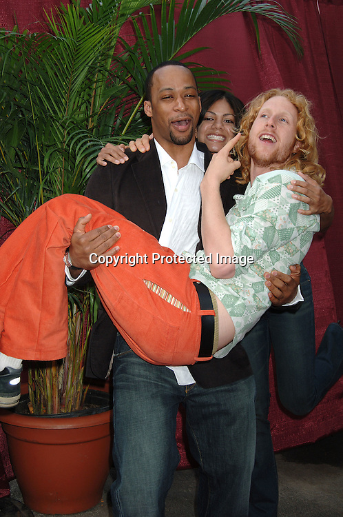 "Eric and Jeremy and Yolanda and Ray ..from ""The Big Race""..arriving at the CBS Upfront for their 2006 Fall Primetime S..Schedule on May 17, 2006 at Tavern on the Green. ..Robin Platzer, Twin Images"