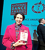 The Critics' Circle National Dance Awards 2016 <br /> at the Lilian Baylis Studio, Sadler's Wells, London, Great Britain <br /> <br /> 6th February 2017 <br /> <br /> Dame Beryl Grey <br /> receives the De Valois Award for Outstanding Achievement <br /> <br /> <br /> <br /> Photograph by Elliott Franks <br /> Image licensed to Elliott Franks Photography Services
