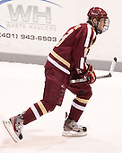 Johnny Gaudreau (BC - 13) - The Providence College Friars tied the visiting Boston College Eagles 3-3 on Friday, December 7, 2012, at Schneider Arena in Providence, Rhode Island.