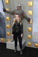 """HOLLYWOOD, CA - May 8: Skyler Shaye, At Premiere Of Warner Bros. Pictures' """"King Arthur: Legend Of The Sword"""" At The TCL Chinese Theatre In California on May 8, 2017. Credit: FS/MediaPunch"""