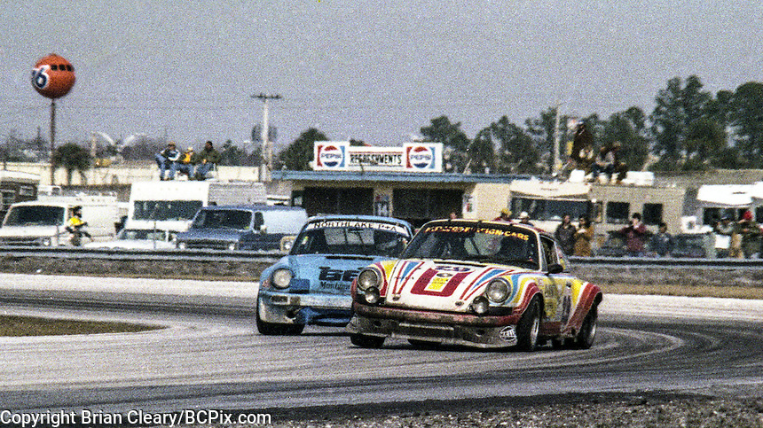 #29 Porsche 911S Bill Follmer, Bill Alsup, and Richard Weiss 18th place finish, 1978 24 Hours of Daytona, Daytona International Speedway, Daytona Beach, FL, February 5, 1978.  (Photo by Brian Cleary/www.bcpix.com)
