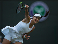 ANA IVANOVIC (SRB)<br /> <br /> The Championships Wimbledon 2014 - The All England Lawn Tennis Club -  London - UK -  ATP - ITF - WTA-2014  - Grand Slam - Great Britain -  28th June 2014. <br /> <br /> &copy; AMN IMAGES