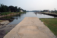 1989 August ..Conservation.Colonial Place-Riverview..Haven Creek.City Boat Ramp...NEG#.NRHA#..
