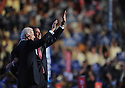 Democratic Presidential Nominee Senator Barack Obama (R) and Vice Presidential nominee Senator Joe Biden wave to the crowd at the 2008 Democratic National Convention at the Pepsi Center in Denver, Colorado USA, 27 August 2008. Delegates at the convention officially nominated Obama and Biden today.