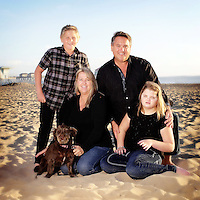 2 November 2013:  Phil, Carolyn,  Ryan (10) and Sarah (14) Rodas in Huntington Beach, CA.