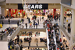 Boxing day sale Sears store at Toronto Eaton Centre shopping mall. Toronto, Canada 2009.