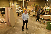 Steve Soult, owner of coffin makers Steve Soult Ltd of Kirkby-in-Ashfield
