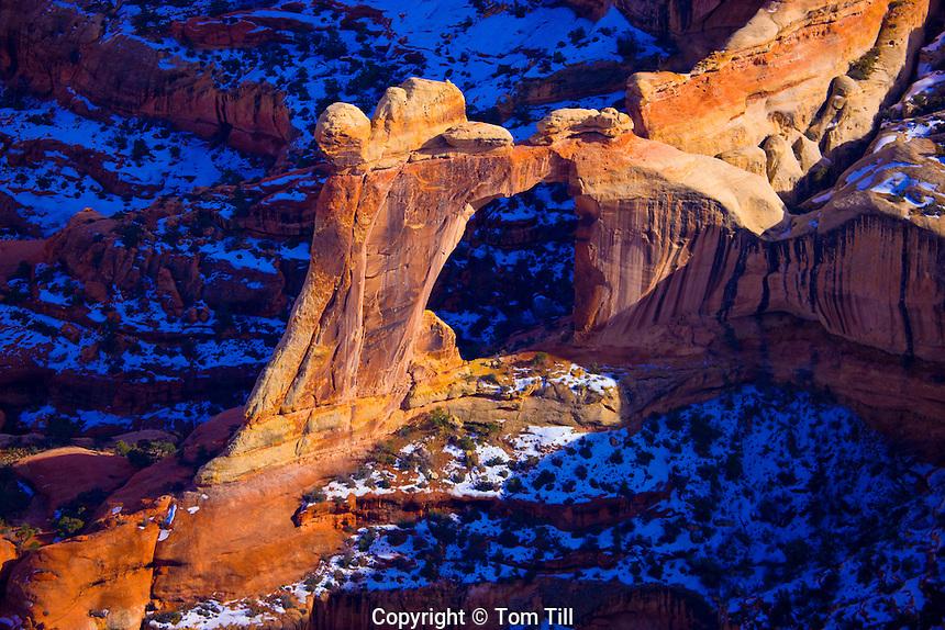 Angel Arch, Salt Creek Canyon, Needles District, Canyonlands National Park, Utah