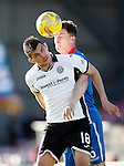 Inverness Caledonian Thistle v St Johnstone...24.10.15  SPFL  Tulloch Stadium, Inverness<br /> Graham Cummins and Greg Tansey<br /> Picture by Graeme Hart.<br /> Copyright Perthshire Picture Agency<br /> Tel: 01738 623350  Mobile: 07990 594431