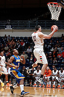 SAN ANTONIO, TX - FEBRUARY 12, 2013: The California State University at Bakersfield Roadrunners vs. the University of Texas at San Antonio Roadrunners Men's Basketball at the UTSA Convocation Center. (Photo by Jeff Huehn)