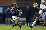 22 October 2015: Notre Dame's Sabrina Flores (8). The University of North Carolina Tar Heels hosted the Notre Dame University Fighting Irish at Fetzer Field in Chapel Hill, NC in a 2015 NCAA Division I Women's Soccer game. UNC won the game 2-1.