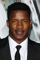 "WESTWOOD, CA, USA - FEBRUARY 24: Nate Parker at the World Premiere Of Universal Pictures And Studiocanal's ""Non-Stop"" held at Regency Village Theatre on February 24, 2014 in Westwood, Los Angeles, California, United States. (Photo by Xavier Collin/Celebrity Monitor)"