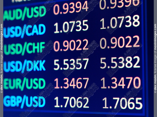 E forex currency rates
