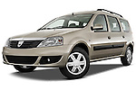 Dacia Logan Laureate Minivan 2009 Stock Photo