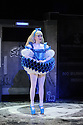 """London, UK. 01.12.2015. """"wonder.land"""", a new musical inspired by Lewis Carroll's """"Alice in Wonderland"""", created by Damon Albarn, Moira Buffini and Rufus Norris, opens at the National Theatre, in the Olivier. Picture shows: Carly Bawden (Alice - Avatar). Photograph © Jane Hobson."""