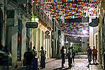 Ruas do baiiro do Pelourinho. Salvador. Bahia. 2009. Foto de Caio Vilela.
