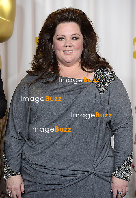 Melissa McCarthy at the 85th Academy Awards at the Dolby Theatre, Los Angeles.