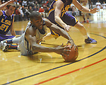 "Ole Miss guard Zach Graham (32)  dives for the ball at the C.M. ""Tad"" Smith Coliseum in Oxford, Miss. on Wednesday, February 9, 2011. Ole Miss won 66-60 and is now 4-5 in the Southeastern Conference."