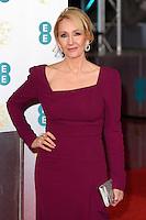 JK Rowling at the 2017 EE British Academy Film Awards (BAFTA) held at The Royal Albert Hall, London, UK. <br /> 12 February  2017<br /> Picture: Steve Vas/Featureflash/SilverHub 0208 004 5359 sales@silverhubmedia.com