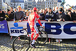 Michael Van Staeyen (BEL) Cofidis team with fans at sign on before the 101st edition of the Tour of Flanders 2017 running 261km from Antwerp to Oudenaarde, Flanders, Belgium. 26th March 2017.<br /> Picture: Eoin Clarke | Cyclefile<br /> <br /> <br /> All photos usage must carry mandatory copyright credit (&copy; Cyclefile | Eoin Clarke)