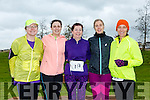 participants who took part in the Kerry's Eye Valentines Weekend 10 mile road race on Sunday were Helen Broderick, Lara Stevens, Betty Brosnan, Edel Broderick and Sinead Deutrom