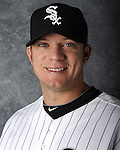 GLENDALE, AZ - MARCH 03:  Jake Peavy of the Chicago White Sox poses for his official team headshot during photo day on March 3, 2012 at The Ballpark at Camelback Ranch in Glendale, Arizona. (Photo by Ron Vesely)   Subject:   Jake Peavy