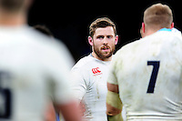 Elliot Daly of England looks on after the match. RBS Six Nations match between England and Ireland on February 27, 2016 at Twickenham Stadium in London, England. Photo by: Patrick Khachfe / Onside Images