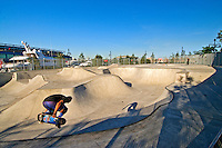 Hudson River Park, Chelsea, Pier 62,  Skate Park, Manhattan, New York City, New York, USA
