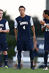 30 August 2013: Monmouth's Colin Stripling. The University of North Carolina Tar Heels hosted the Monmouth University Hawks at Fetzer Field in Chapel Hill, NC in a 2013 NCAA Division I Men's Soccer match. UNC won the game 1-0 in two overtimes.