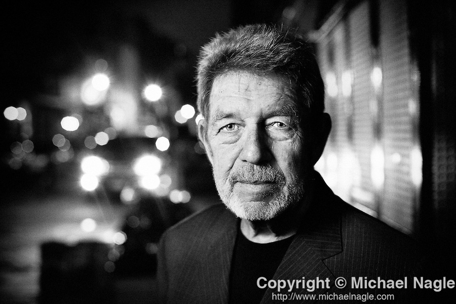 NEW YORK - MAY 12, 2011:  Writer Pete Hamill poses for a portrait outside of the Tenement Museum after a reading and book signing on May 12, 2011 in New York City.  (PHOTOGRAPH BY MICHAEL NAGLE)