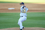 Ole Miss' Josh Laxer (20) vs. Arkansas State in baseball action at Oxford-University Stadium in Oxford, Miss. on Tuesday, February 21, 2012. Ole Miss won the home opener 8-1 to improve to 2-1 on the season. Arkansas State dropped to 0-3.