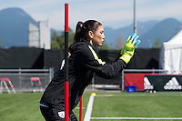 Vancouver, Canada - July 3, 2015:  The USWNT trained before the FIFA Women's World Cup Final at BC Place.