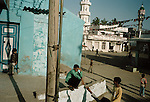 Street scenes in the divided city of Mandvi, Gujarat