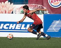 Carlos Martinez training before the 2009 CONCACAF Under-17 Championship From April 21-May 2 in Tijuana, Mexico