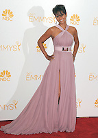 AUG 25 Halle Berry in the 66th Primetime Emmy Awards Press Room