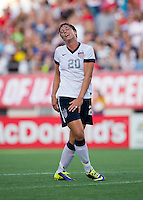 Abby Wambach.  The USWNT defeated Brazil, 4-1, at an international friendly at the Florida Citrus Bowl in Orlando, FL.