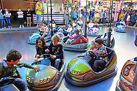 Fun on the dodgems! Fiesta, San Pedro de Alcantara, Marbella, Spain 15th October 2015. 201510151777<br /> <br /> Copyright Image from Victor Patterson, 54 Dorchester Park, Belfast, UK, BT9 6RJ<br /> <br /> t1: +44 28 9066 1296 (from Rep of Ireland 048 90661296)<br /> t2: +44 28 9002 2446 (from Rep of Ireland 048 90022446)<br /> m: +44 7802 353836<br /> <br /> e1: victorpatterson@me.com<br /> e2: victorpatterson@gmail.com<br /> <br /> www.victorpatterson.com<br /> <br /> IMPORTANT: Please see my Terms and Conditions of Use at www.victorpatterson.com