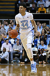 16 December 2015: North Carolina's Justin Jackson. The University of North Carolina Tar Heels hosted the Tulane University Green Wave at the Dean E. Smith Center in Chapel Hill, North Carolina in a 2015-16 NCAA Division I Men's Basketball game. UNC won the game 96-72.