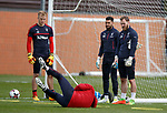 Robby McCrorie, Wes Foderingham and Jak Alnwick