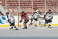 Avon Old Farms School varsity hockey plays Taft School at Fenway Park