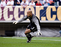 Tim Howard. The USMNT defeated Turkey, 2-1, at Lincoln Financial Field in Philadelphia, PA.
