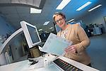 BT Fibre Broadband Rainbow Printers.<br /> 20.02.14<br /> <br /> &copy;Steve Pope-FOTOWALES