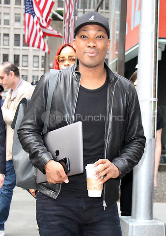 NEW YORK, NY - APRIL 12: Corey Hawkins at NBC'S Today Show promoting 24: Legacy and his Broadway debut for Six Degrees of Separation in New York City on April 12,  2017. Credit: RW/MediaPunch