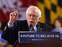 Bernie Sanders Baltimore campaign rally