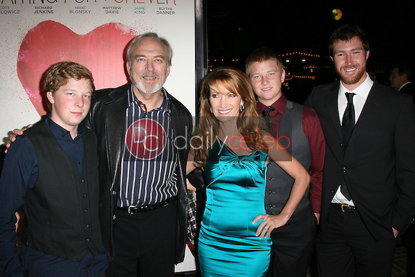 Jane Seymour with James Keach and family<br /> at the Premiere Of &quot;Waiting For Forever,&quot; Pacific Theaters, Los Angeles, CA 02-01-11<br /> David Edwards/DailyCeleb.com 818-249-4998