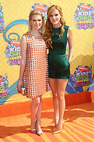 Bella Thorne<br /> at Nickelodeon's 27th Annual Kids' Choice Awards, USC Galen Center, Los Angeles, CA 03-29-14<br /> David Edwards/DailyCeleb.Com 818-249-4998