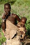 Mursi Tribeswoman, Murle Region, Ethiopia