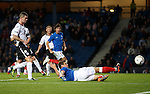 Lee McCulloch fails to connect with the ball