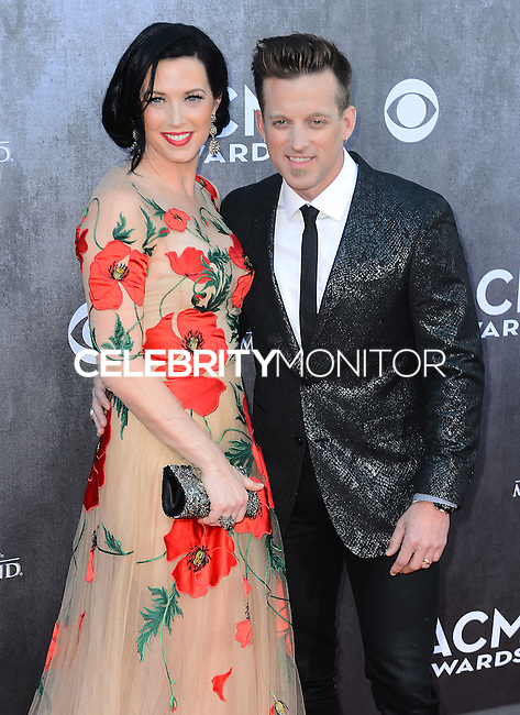 LAS VEGAS, NV, USA - APRIL 06: Shawna Thompson, Keifer Thompson at the 49th Annual Academy Of Country Music Awards held at the MGM Grand Garden Arena on April 6, 2014 in Las Vegas, Nevada, United States. (Photo by Celebrity Monitor)