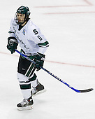 Brandon Gentile (Michigan State - Clarkston, MI) - The Michigan State Spartans defeated the University of Maine Black Bears 4-2 in their 2007 Frozen Four semi-final on Thursday, April 5, 2007, at the Scottrade Center in St. Louis, Missouri.
